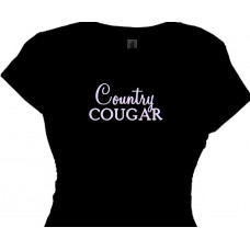 Country Cougar | Cougar Country Women T shirt